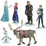 Frozen 6 Piece Action Figures Set - $18 with FREE Shipping!